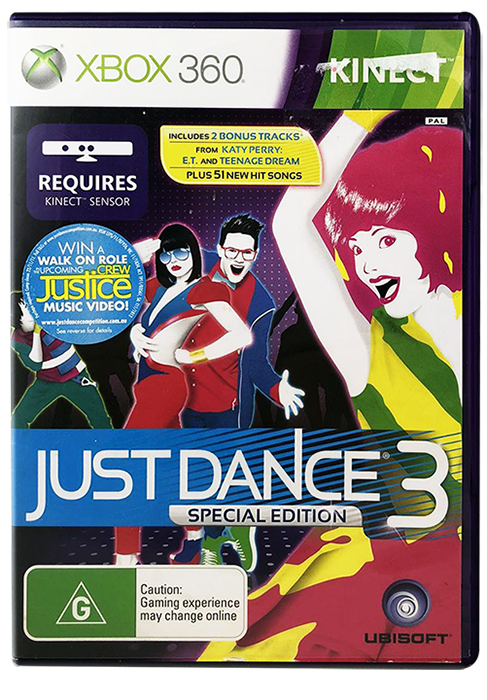 Just Dance Game For Xbox 360 : Just dance xbox kinect vgc fast free post ebay