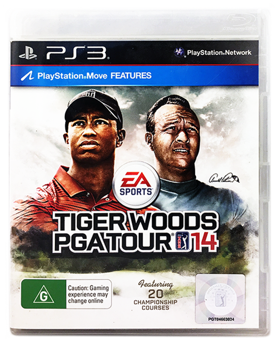 For Fast Shipping Learned Only Case Tiger Woods Pga Tout 14 Ps3 no Game