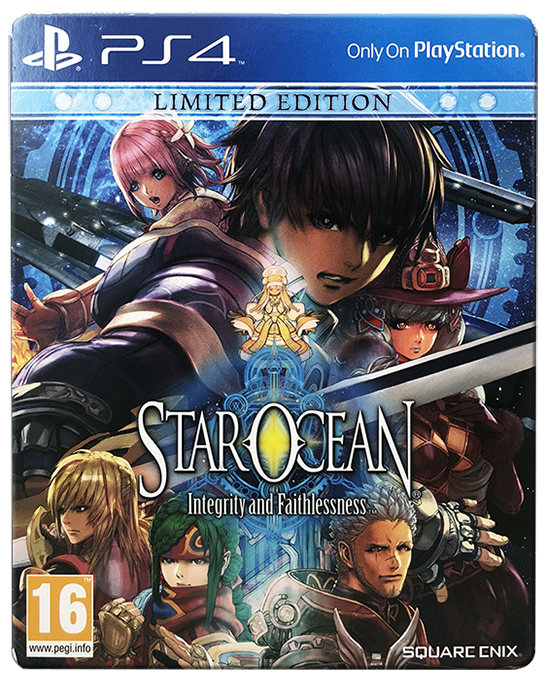 Star Ocean Integrity Faithlessness Limited Edition Ps4 Action Role Playing Ebay