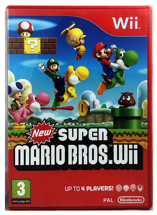 Details about New Super Mario Bros (Wii & Wii U) NIntendo - Side Scrolling  Platformer - PAL