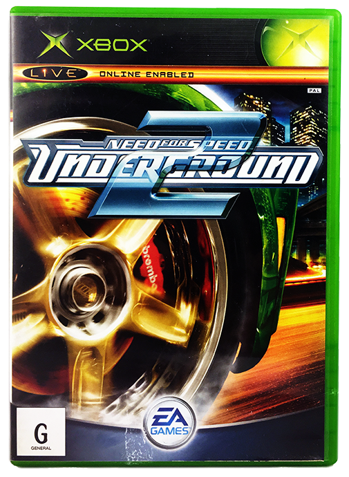 Need For Speed Underground 2 Xbox Xbox 360 Playable Very Good